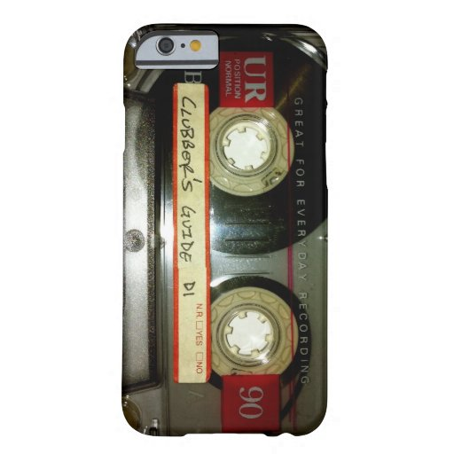 Old School Cassette Tape iPhone 6 Case