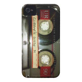 Old School Cassette Tape iPhone 4 Case-Mate Case