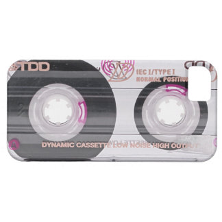 Old school cassette tape iPhone 5 covers