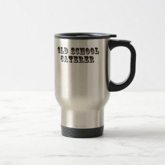 Old School Caterer Stainless Steel Travel Mug