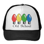 Old School Christmas Tree Lights Mesh Hat
