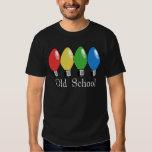 Old School Christmas Tree Lights T-shirts