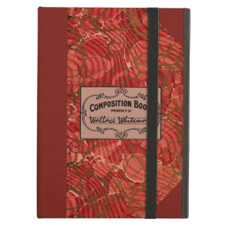 Old School Composition Notebook iPad Air Cover