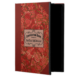 Old School Composition Notebook Powis iPad Air 2 Case