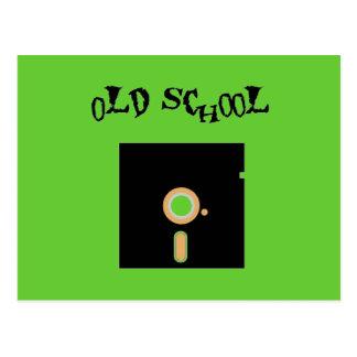 Old School Diskette Postcard