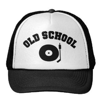 Old School DJ Record Player Cap