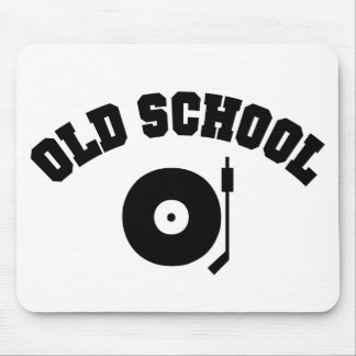 Old School DJ Record Player Mouse Mat