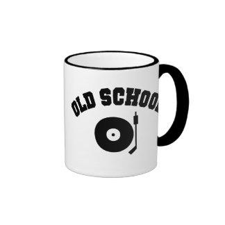 Old School DJ Record Player Mug