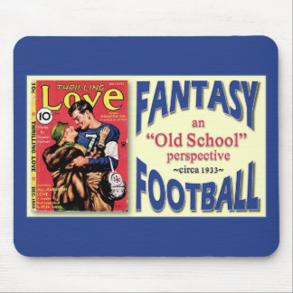 Old School Fantasy Football Mouse Pad