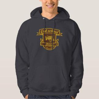 Old school farmer hoodie