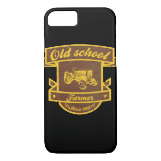 Old school farmer iPhone 7 case