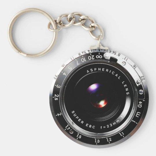 Old School Film Camera Key Ring