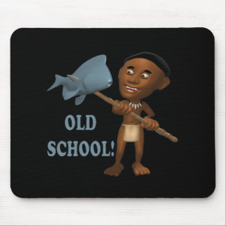 Old School Fishing 3 Mouse Pad