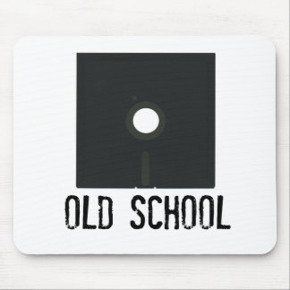 Old School Floppy Disk Mouse Pad