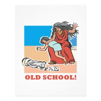Old School Full Color Flyer