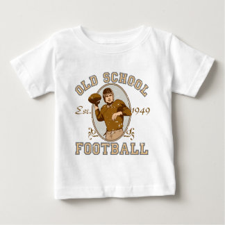 Old School Football Apparel Baby T-Shirt