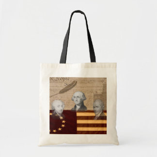 OLD SCHOOL FOUNDING FATHERS BUDGET TOTE BAG