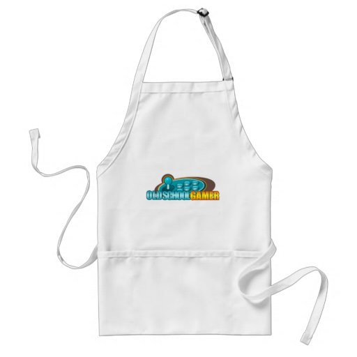 Old School Gamer Arcade Stick Buttons Apron