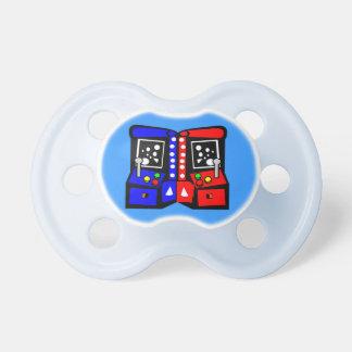 Old School Gamer Baby Pacifier