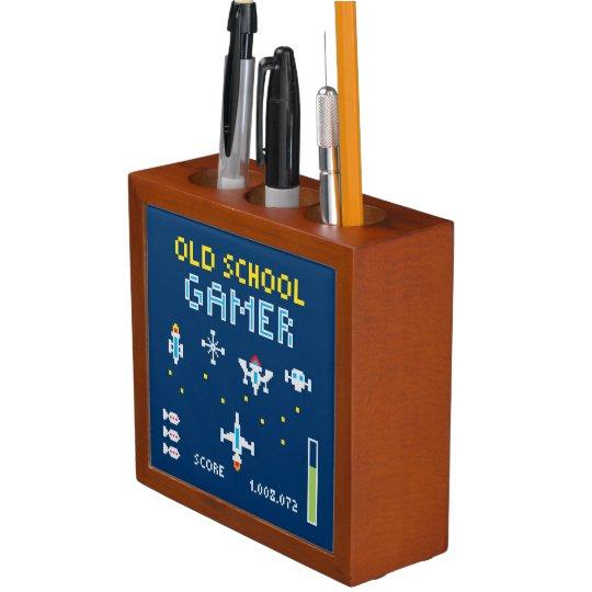 Old School Gamer - Desk Organiser