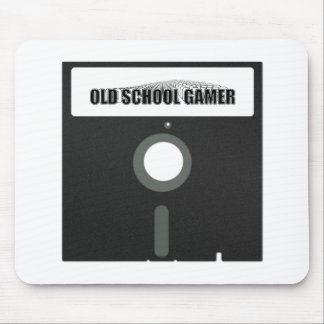 Old School Gamer Mouse Pad