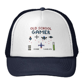 Old School Gamer - Spaceship - Hat