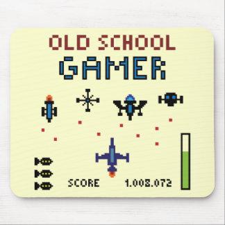 Old School Gamer - Spaceship - Mousepad