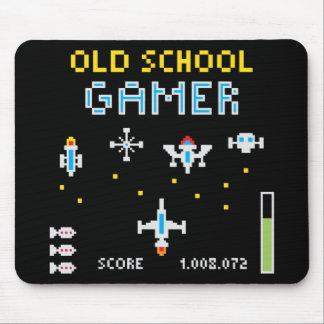 Old School Gamer - Stellarship - Mousepad