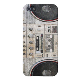 Old school ghetto blaster iPhone 5/5S covers