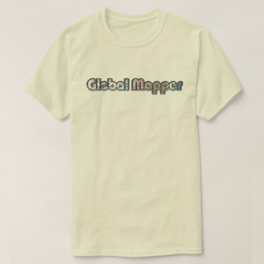 Old School Global Mapper T-Shirt