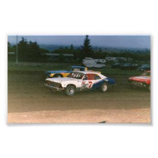 Old school Gregg Racing Photo Art