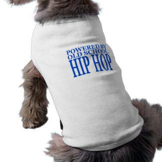 OLD SCHOOL HIP HOP DOG TSHIRT