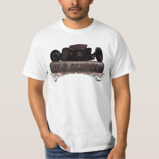 Old School Hot Rod T Shirt