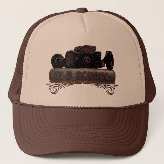 Old School Hot Rod Trucker Hat