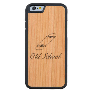 Old school iphone 6/6s wooden case
