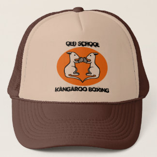 Old School Kangaroo Boxing Baseball Hat Cap