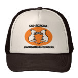 Old School Kangaroo Boxing Baseball Hat Cap