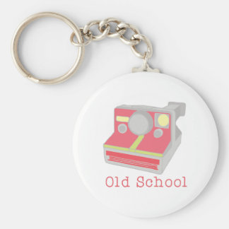 Old School Keychain