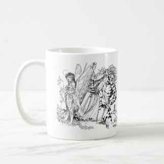 Old School Magic Mischief in the Mountains Coffee Mug