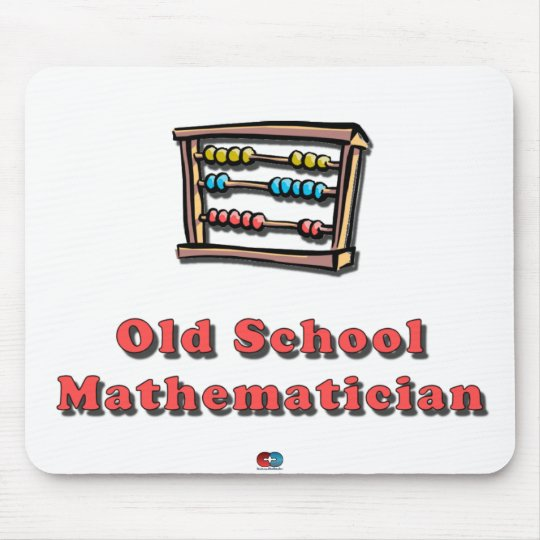 Old School Math Mouse Mat