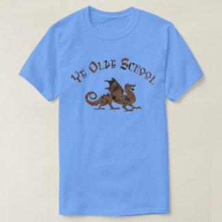 Old School - Medieval Dragon King Arthur Knights T-Shirt