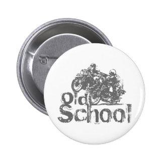 Old School Motorcycle Racing 6 Cm Round Badge