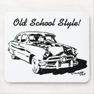 Old School Mousepad
