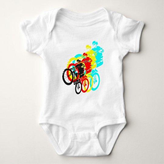 Old school MTB / Trials bike wheelie Baby