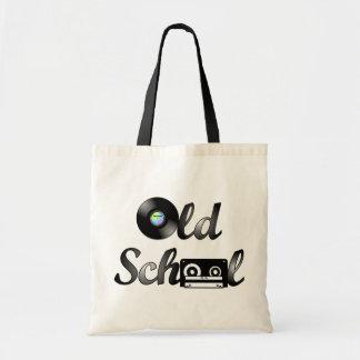 Old School Music Media Budget Tote Bag
