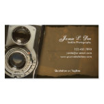 Old School Photography Double-Sided Standard Business Cards (Pack Of 100)