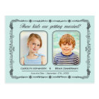 Old School Photos Save the Date Postcard | Mint