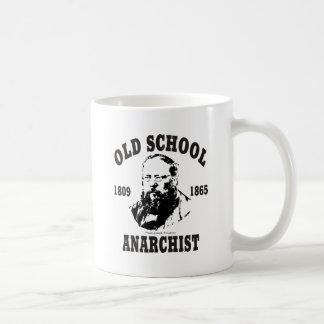 Old School -- Pierre-Joseph Proudhon Basic White Mug