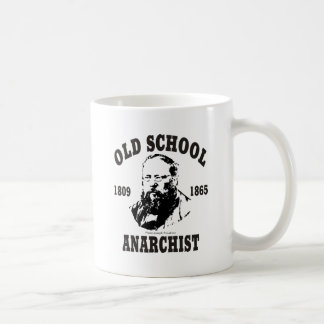 Old School -- Pierre-Joseph Proudhon Basic White Mug