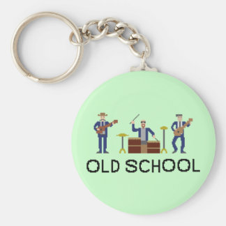 Old School Pixel Band - Keychain
